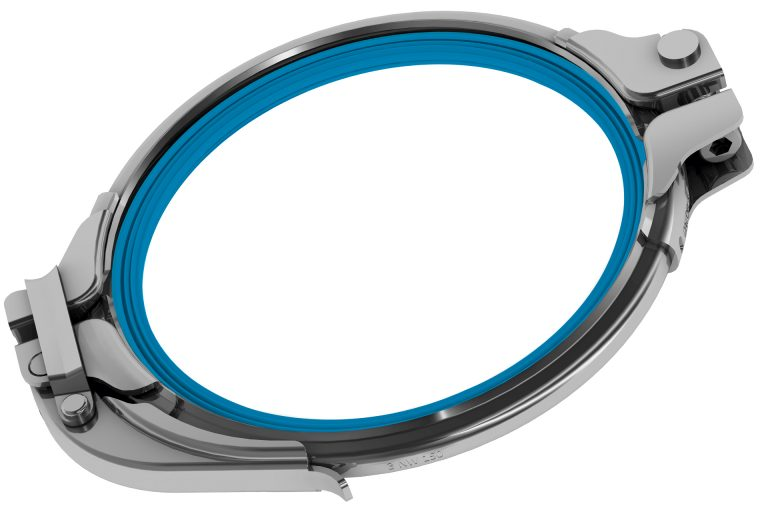 Detectable Desing pull ring u-shaped gasket